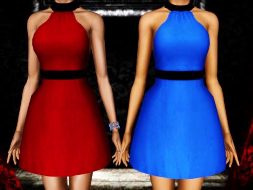 sims3, dress, платье