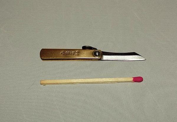 Как сделать маленький ножик