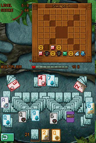 All of the gameplay in Jewel Quest Solitaire is carried out on the bottom s