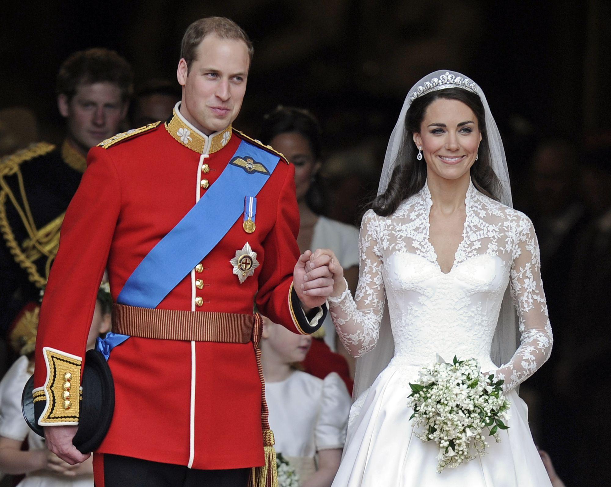 Свадьба принца уильяма и кейт миддлтон 14 фотография