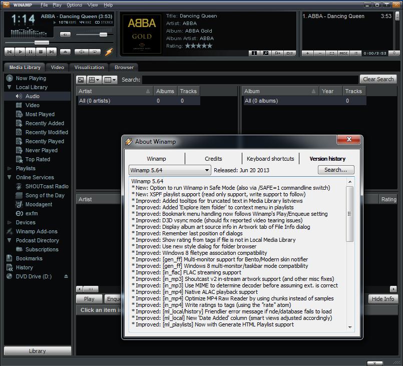 Winamp pro vesr5.5 incl.serials