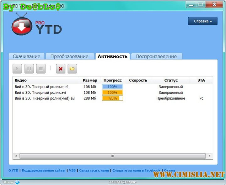 YouTube Video Downloader PRO 5.8.2 [RePack] [2016 / ENG / RUS]