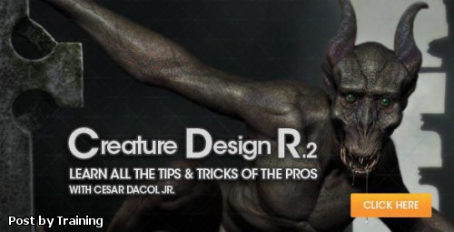 Visualarium - Creature Design R2 Learn All The Tips & Tricks Of The Pros