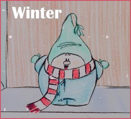Зима / Winter (Пит Доктер / Pete Docter) [1988, короткометражный анимационныйфильм, BDRip 720p]
