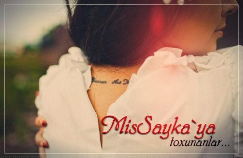 Userə toxun... MisSayka