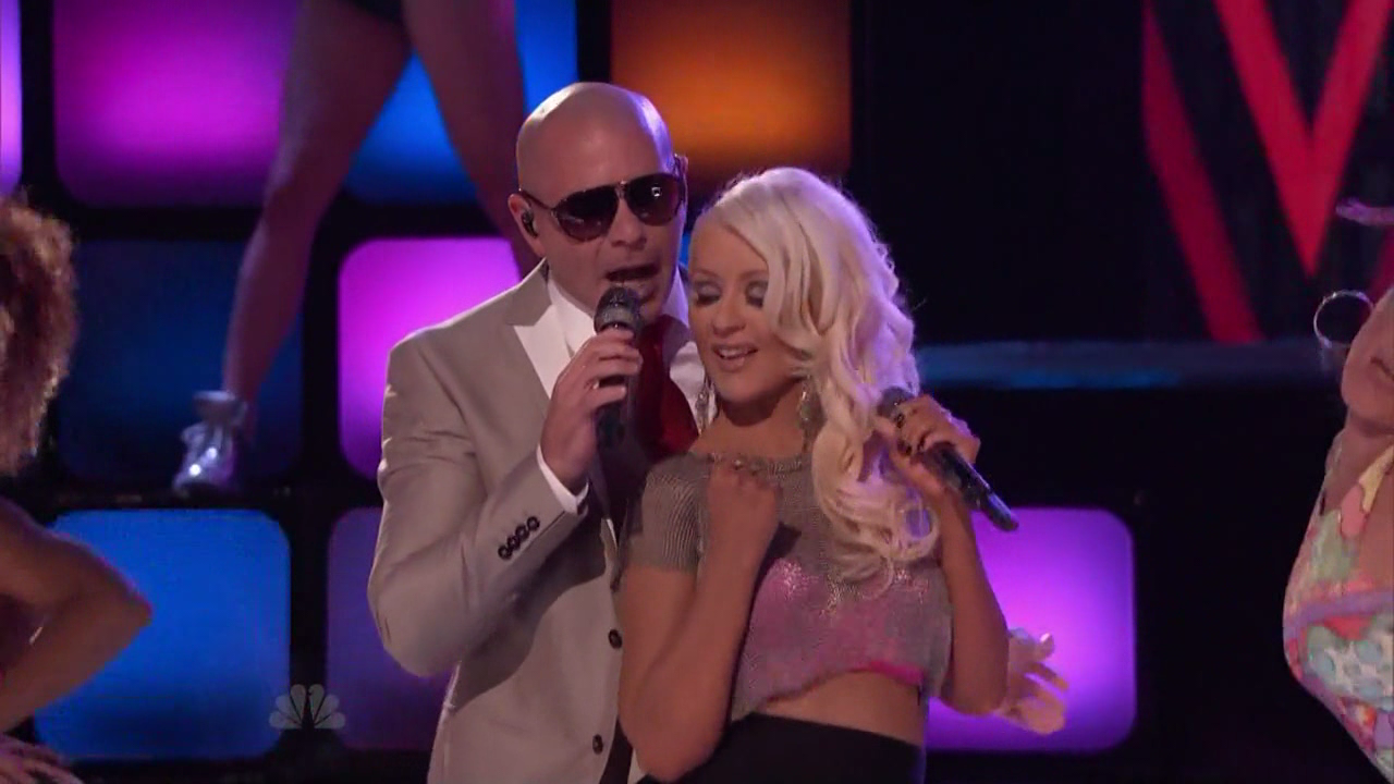 Christina Aguilera   Pitbull - Feel This Moment (The Voice)