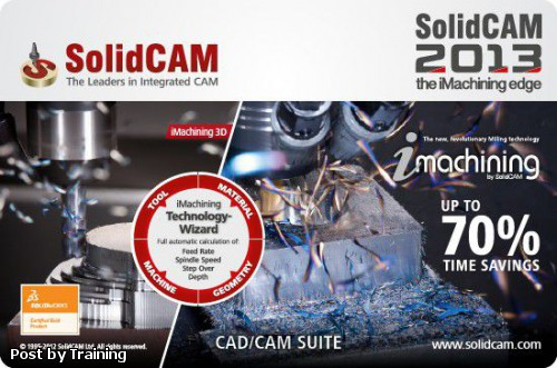 SolidCAM 2013 SP2 Build 51296 Multilanguage for SolidWorks 2011-2013 (x86/x64)