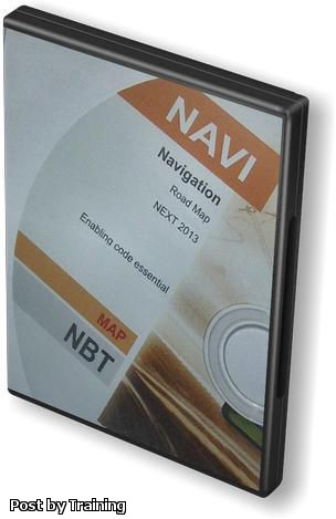 BMW Navigation NBT Road Map Europe Next 2013-2 Professional DVD USB