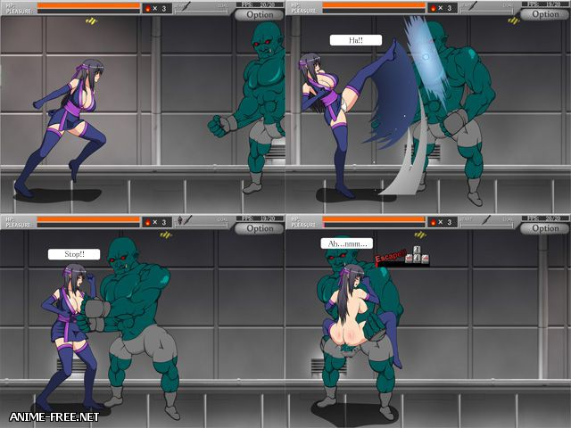 SHINOBI GIRL - EROTIC SIDE SCROLLING ACTION GAME [2011] [Uncen] [JAP,ENG] [Action,Fighting] H-Game