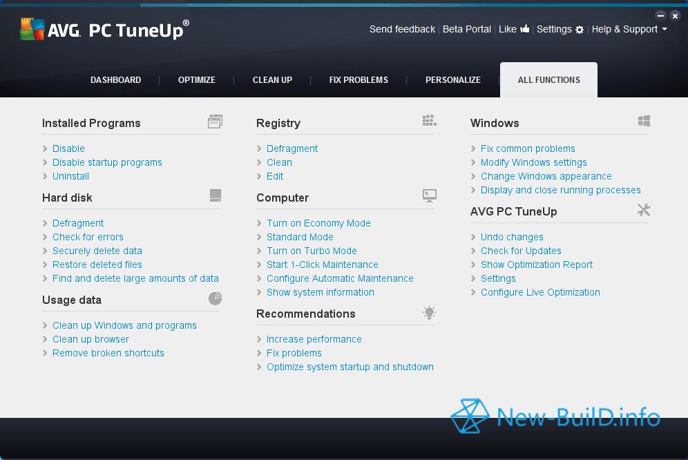 avg pc tuneup code