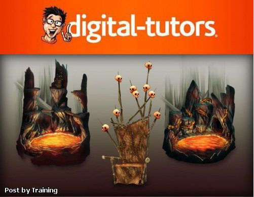 Digital-Tutors - Designing a Boss Battle Environment in Photoshop CS6