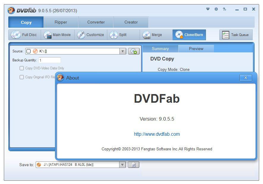 تحميل برنامج دي في دي فاب Download DVDFab 2016