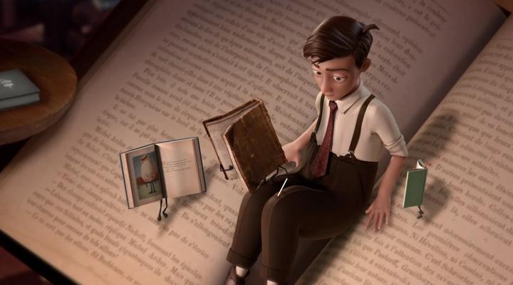 Фантастические летающие книги Мистера Морриса Лессмора / The Fantastic Flying Books of Mr. Morris Lessmore (2011) WEB-DLRip