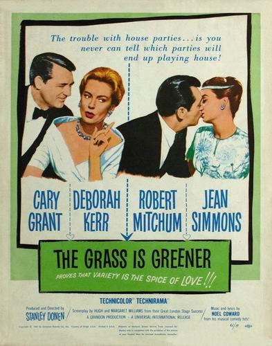 Трава зеленее / The Grass Is Greener (Стенли Донен / Stanley Donen) [1960, Великобритания, комедия, HDRip] AVO (Кузнецов)