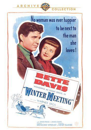 Зимняя встреча / Winter Meeting (Британ Уиндаст / Bretaigne Windust) [1948, США, драма, DVD5 (Custom)] MVO + Original Eng