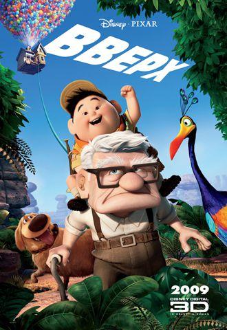 Вверх / Up (Пит Доктер / Pete Docter, Боб Питерсон / Bob Peterson) [2009, мультфильм, драма, комедия, приключения,семейный, HDRip] [Локализованный видеоряд] DUB