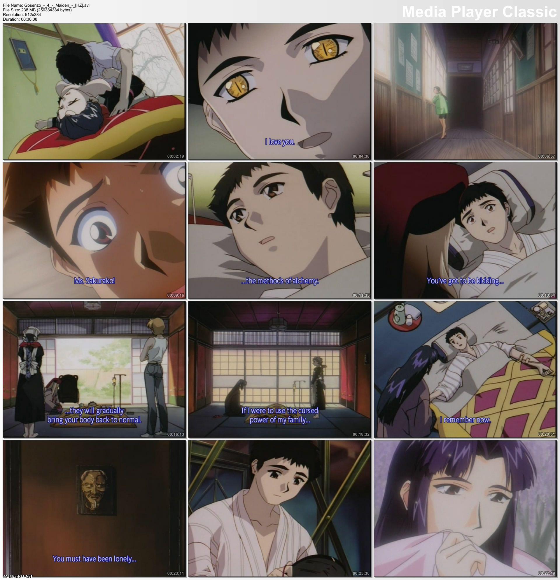 Masquerade / Gosenzo / Маскарад [4 из 4] [RUS,ENG,JAP] Anime Hentai