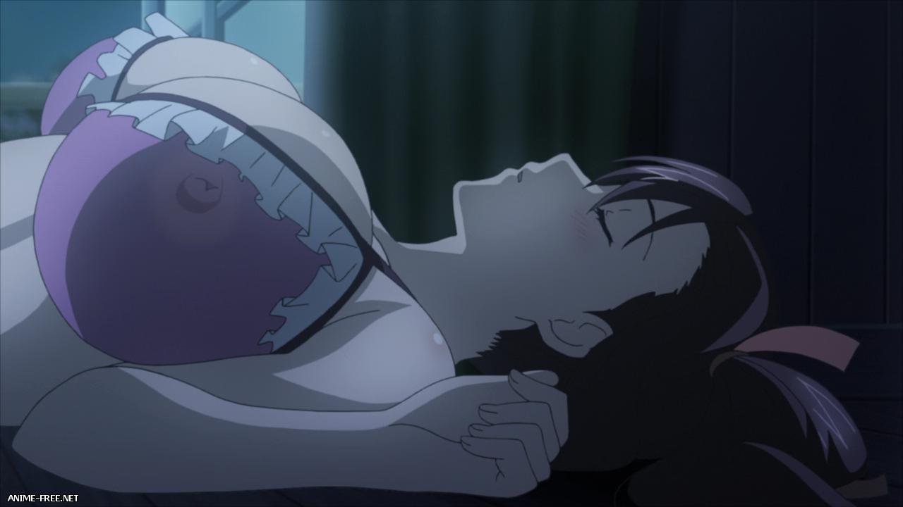 Макен-ки ОВА-2 / Maken-ki! Two: Takeru Nyotaika!? Minami no Shima de Supoon  [OVA-2] [1 из 1] [Uncen] [BDRip / 720p] RUS