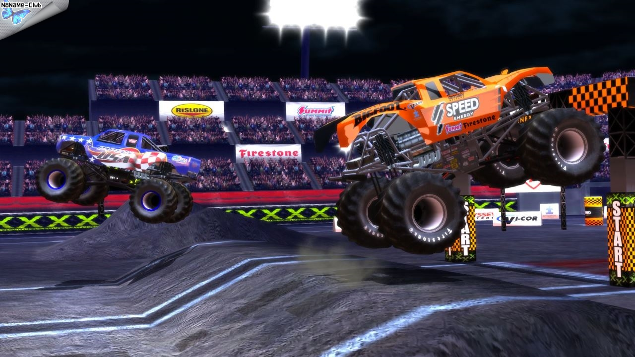 Monster Truck Destruction (2013) [Ru/Multi] (1.02) Unofficial Unleashed