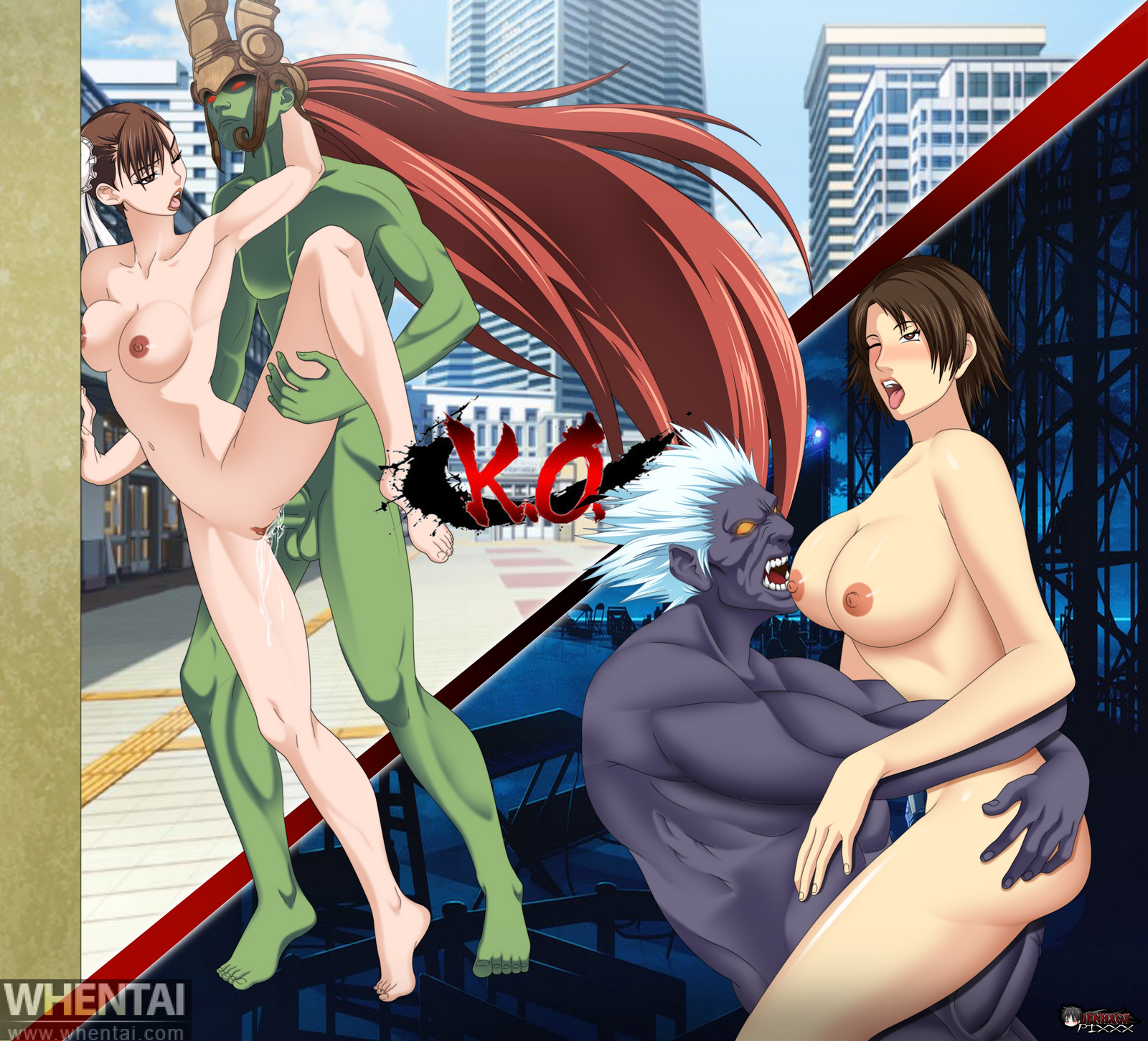 Tekken hentai mod naked movie