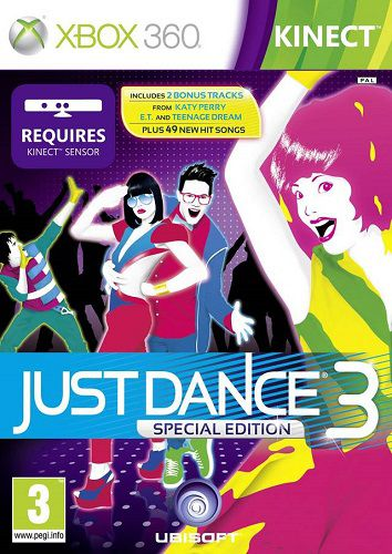 Xbox360-Kinect Just Dance 3 ENGRegion Free 2011,   Arcade