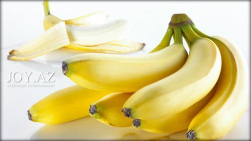 Sağlamlıq və xoşbəxtliyin meyvəsi: Banan
