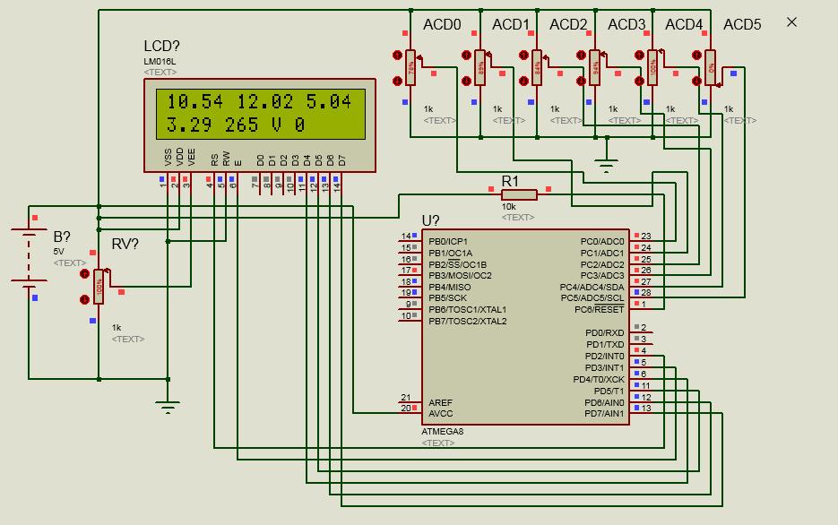 Схема цифровой амперметр переменного тока