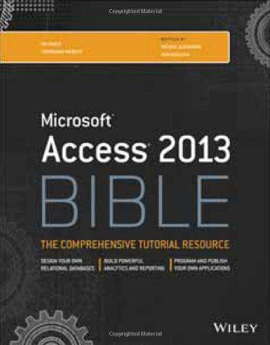 Access 2013 Bible (PDF)