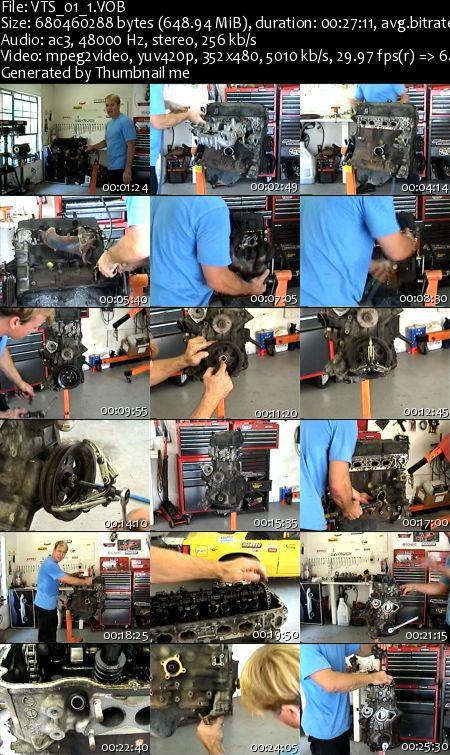 Nissan SR20DET Engine Rebuild DVD