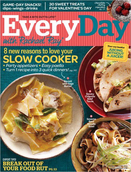 Every Day with Rachael Ray - January - February 2014 (True PDF)
