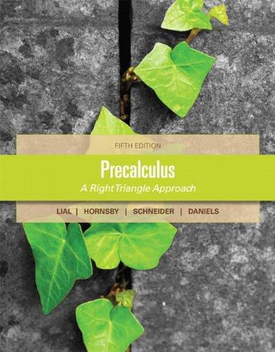 Precalculus By Margaret Lial (5th Edition) (PDF)