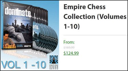 Empire Chess DVD Vol 1 to 10