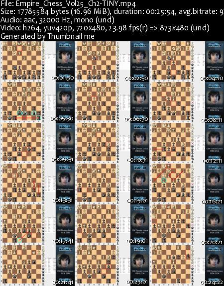 Empire Chess Dvds Collection Volumes 21-40