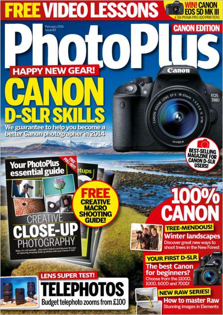 PhotoPlus: The Canon Magazine - February 2014 (True PDF)