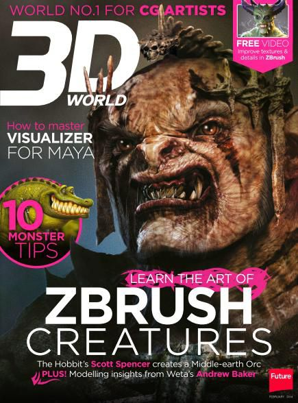 3D World Magazine - February 2014