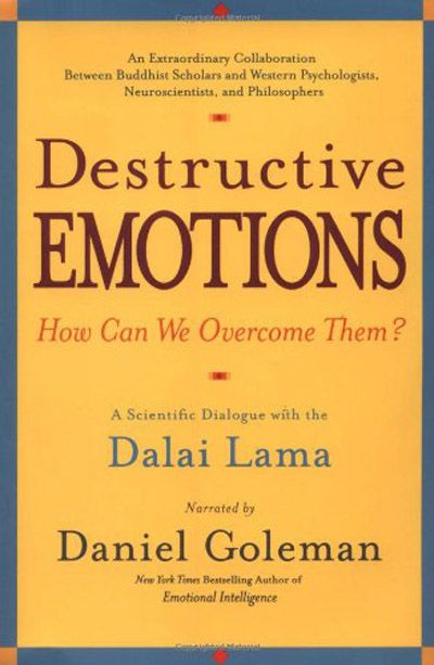Destructive Emotions A Scientific Dialogue with the Dalai Lama