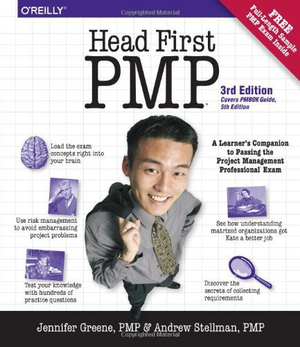 Jennifer Greene and Andrew Stellman, Head First PMP, 3 edition'