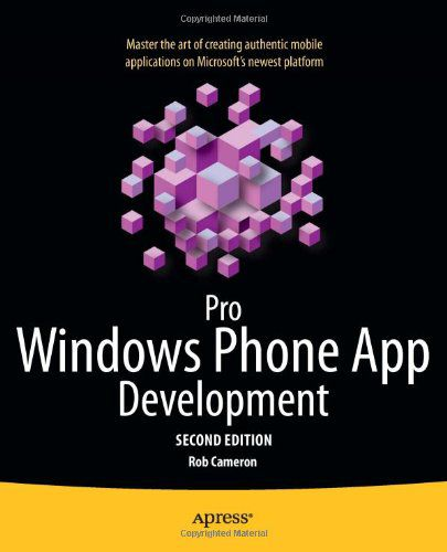 Pro Windows Phone App Development, 2nd Edition