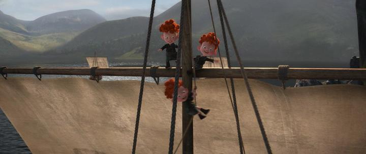 Храбрая сердцем / Brave (2012) HDRip | Лицензия, АVO
