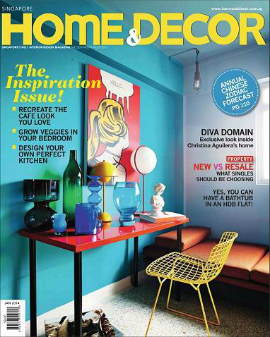 Home & Decor Singapore Magazine January 2014