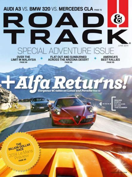 Road & Track - June 2014