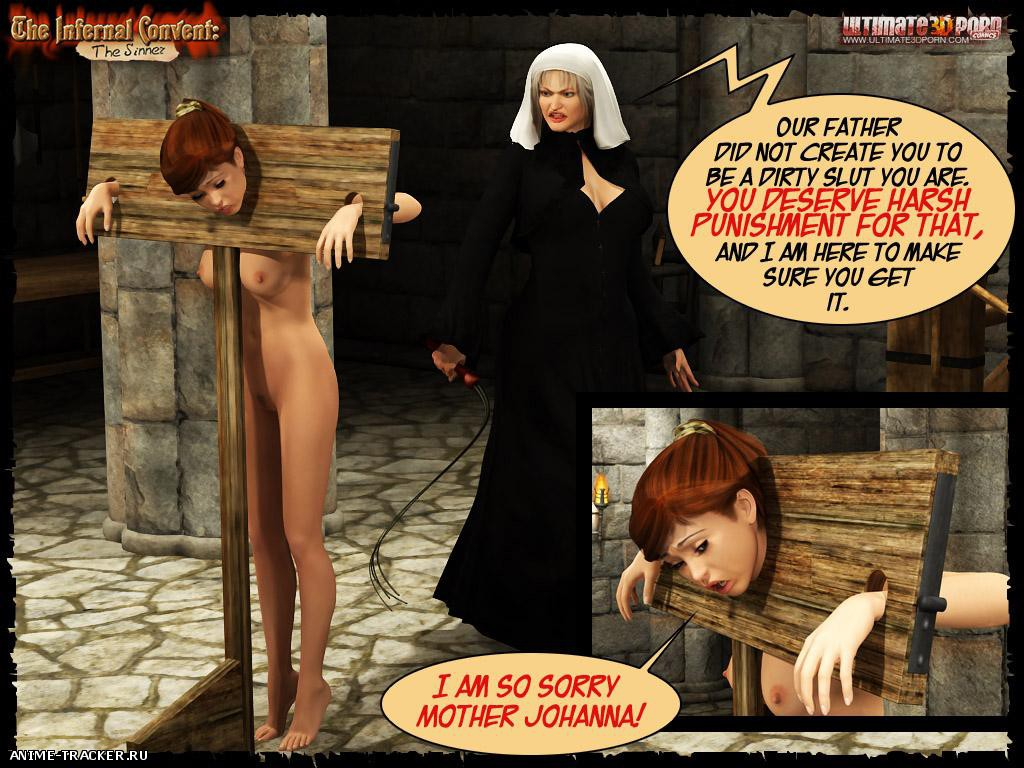 The Infernal Convent [Uncen] [3DCG] [ENG] Porn Comics