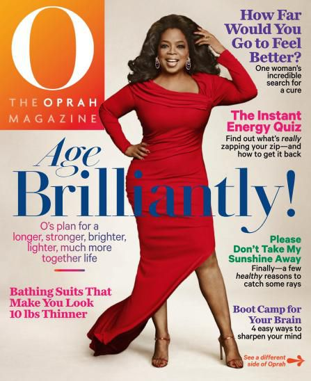 O, The Oprah Magazine USA  -  June 2014