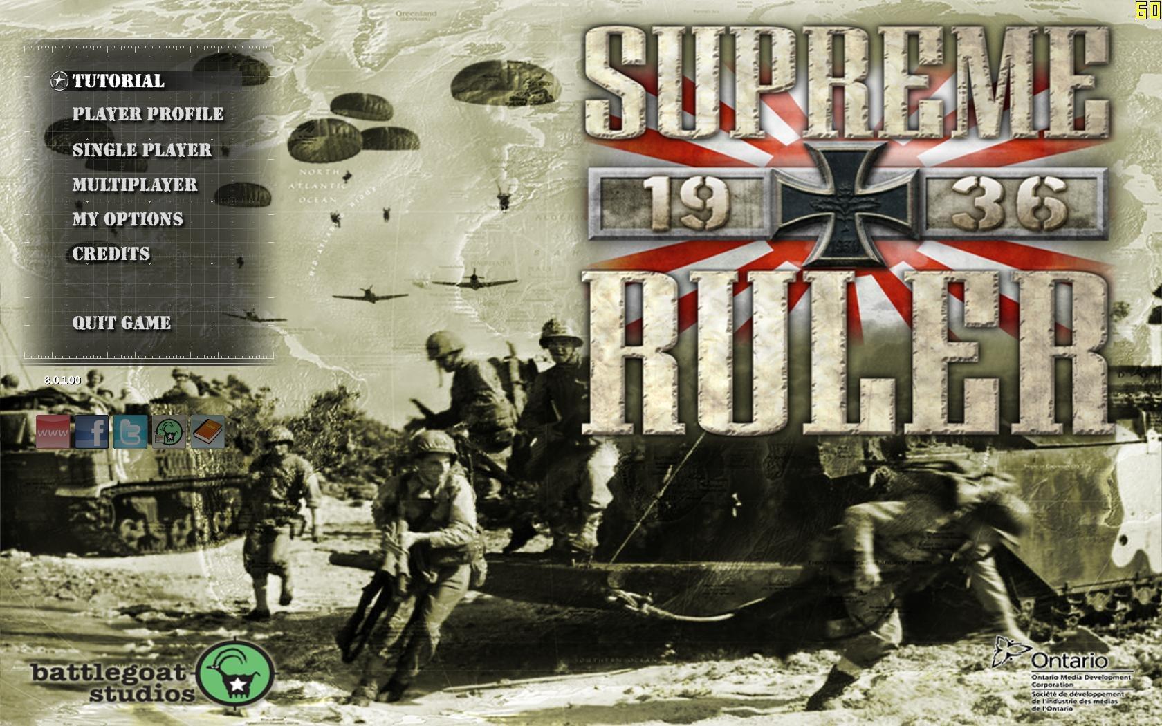 Supreme Ruler 1936 (2014) | Лицензия