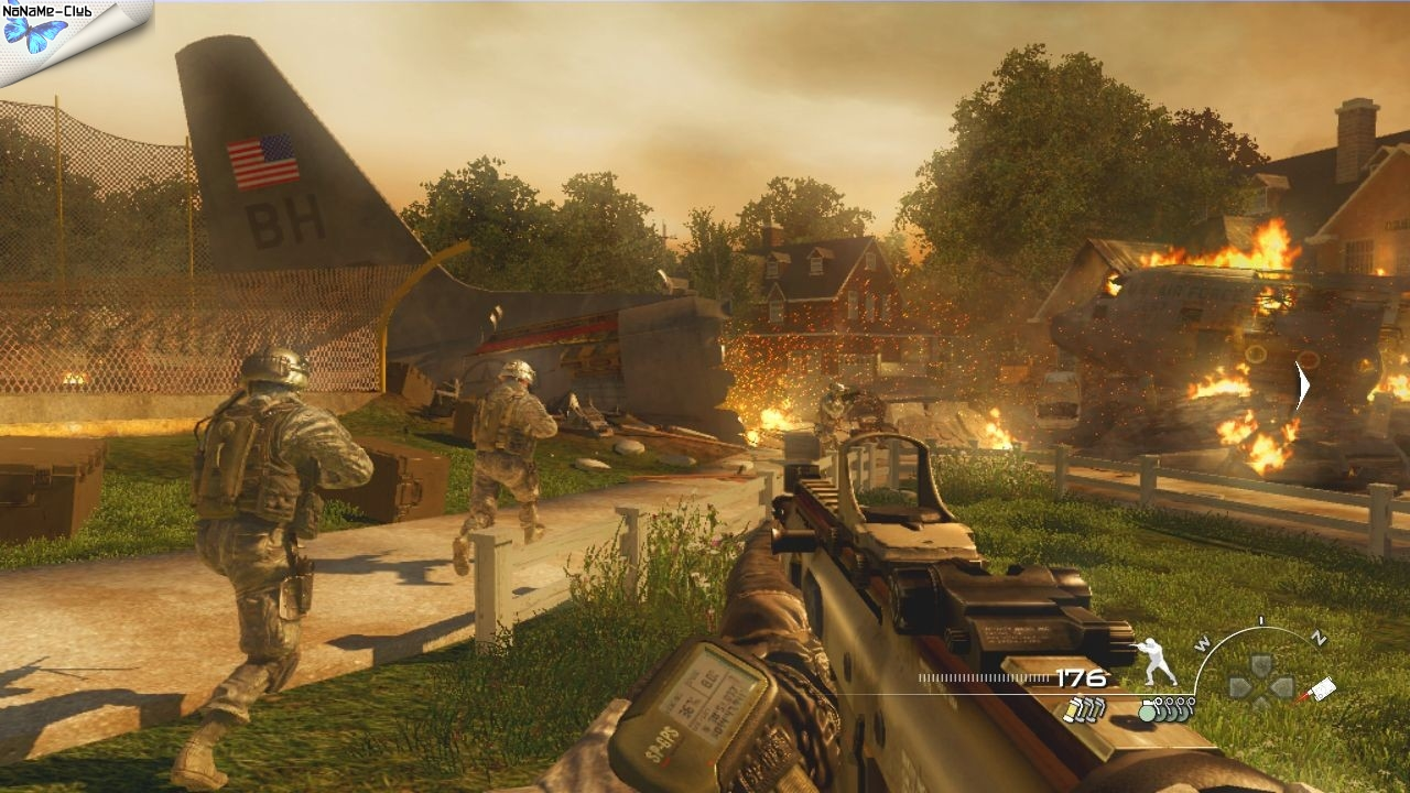 Call of Duty: Modern Warfare 2 (2009) [Ru] (1.2.208) Rip X-NET
