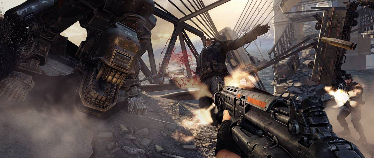 Wolfenstein: The New Order (2014/ХВОХ360/Русский) | FREEBOOT