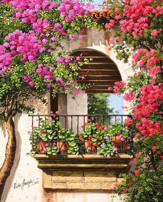 Арки цветы