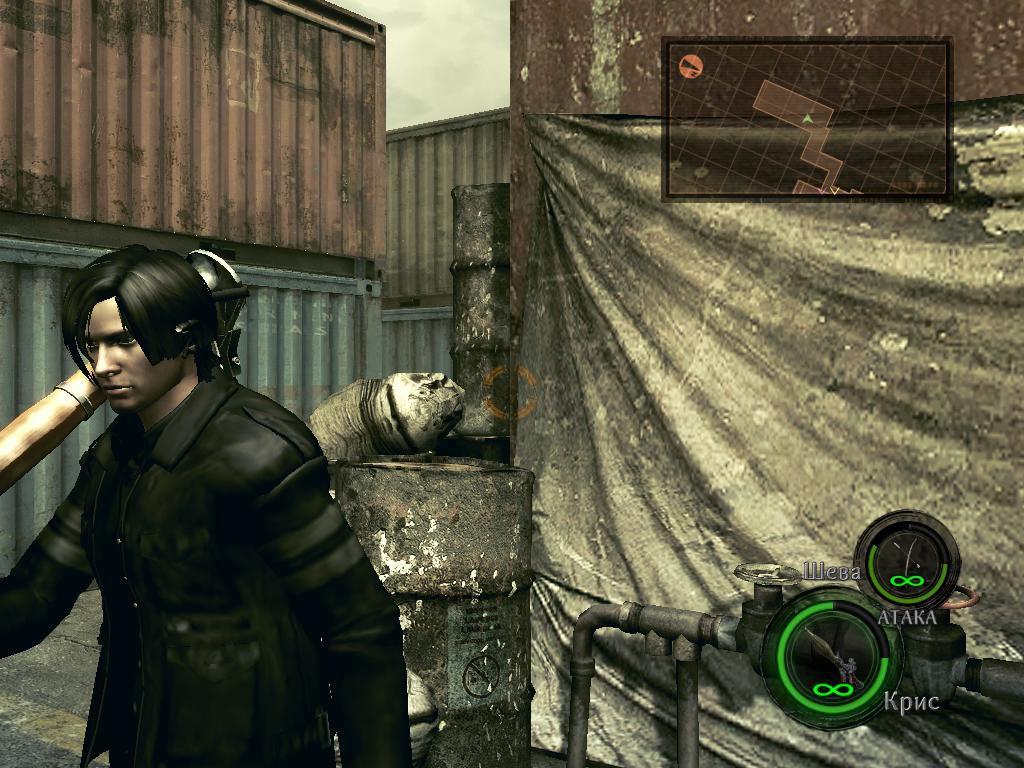 Леон в куртке из Resident evil 6 8874604547032fdbd9d8150be86f4133