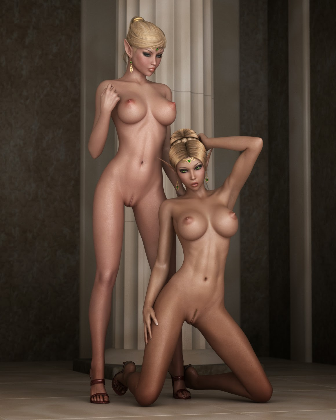 3d elf girls pics porno tube