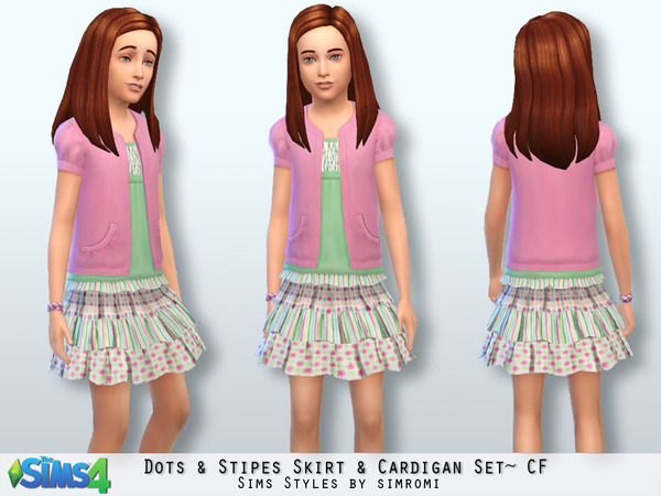 Dots & Stripes Cardigan & Skirt Set CF.jpg